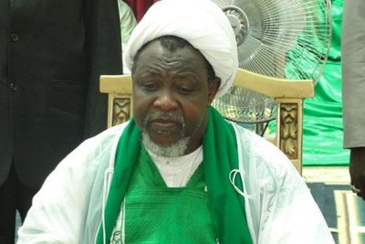 Sheik Ibraheem El-Zakzaky of the Islamic Movement in Nigeria