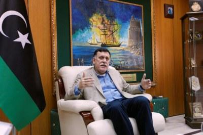 Prime Minister of Libya Fayez al-Sarraj,