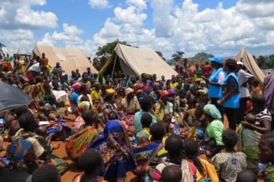 (archive) Le HCR commence à reloger les demandeurs d'asile mozambicains au Malawi.