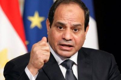 Le président Abdel Fatah al-Sissi