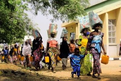 IDPs in North-East Nigeria