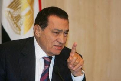 L'ex président égyptien Hosni Moubarak