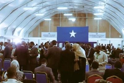Somalia Decides (file photo).