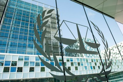 Le siège de la Cour pénale internationale (CPI) à La Haye.
