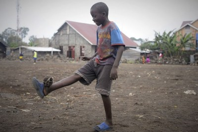 The healing power of football in DR Congo