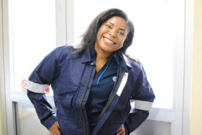 Nnenna Anthonia Olorunfemi, Lead Contract Performance Manager at GE Power and Water at the Nigeria Liquefied Natural Gas plant (NLNG)