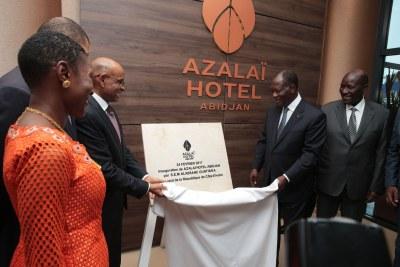Inauguration Hôtel Azalai Abidjan