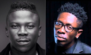Stonebwoy Pulls a Gun on Shatta Wale at Ghana Music Awards