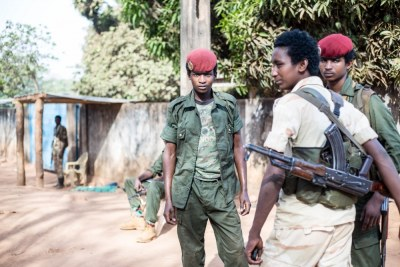 Union for Peace in the Central African Republic fighters.