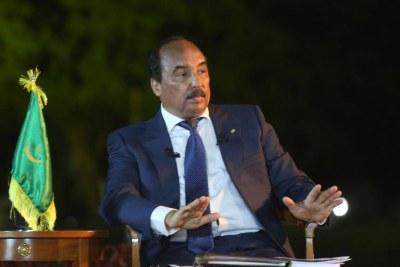 Président Mohamed Ould Abdel Aziz.