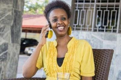 L'activiste rwandaise Diane Rwigara