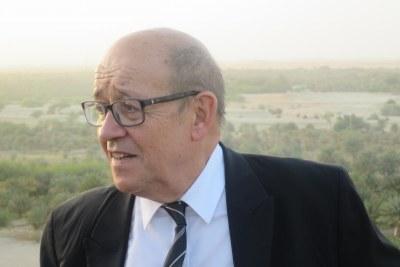 Jean-Yves Le Drian, ministre français des Affaires étrangéres