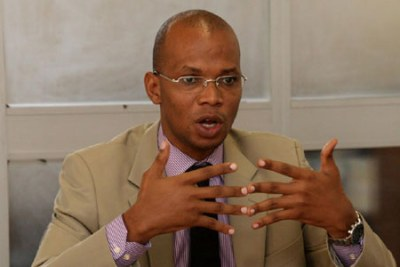 Minister of State in the Vice-President's Office (Union and Environment Affairs) January Makamba
