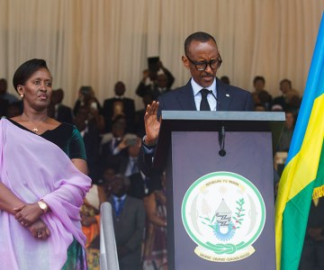 Inauguration of Rwandan President Paul Kagame