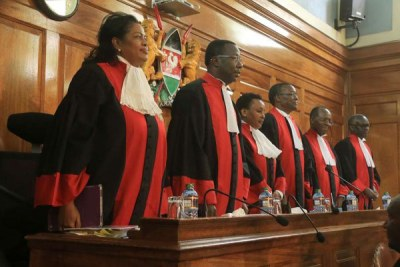 Supreme Court Justices (file photo).