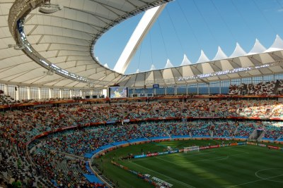 Moses Mabhida Stadium (file photo).