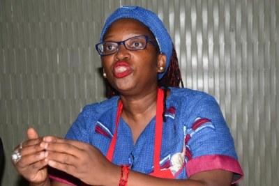 Makerere University Research Fellow Dr Stella Nyanzi (file photo)