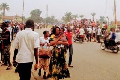 Scènes de joie dans les rues de Kananga après la publication des résultats de l'Examen d'Etat-2017.