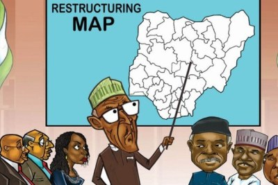 Restructuring map.