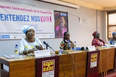 Lancement 16ème rapport « Libérons le pouvoir des filles » de Plan International, le 6 octobre 2017 à Dakar