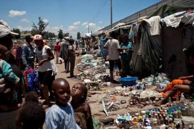Antananarive, Madagascar, où la peste pneumonique a été détectée en 2014 et 2017.