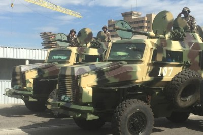 Namibian army (file photo).