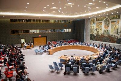 Le Conseil de sécurité de l'ONU