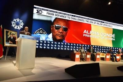 Président Alpha Condé de la Guinée, invité d'honneur des MEDays 2017