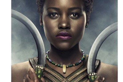 Lupita in the movie Black Panther.