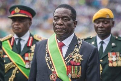 Zimbabwe President, His Excellency Emmerson Mnangagwa