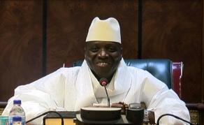 Une discussion entre Yahya Jammeh et son parti vue sur les réseaux sociaux