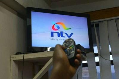 NTV station.