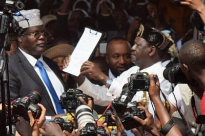 Miguna Miguna said he is unapologetic about his role at Raila Odinga's mock swearing in.
