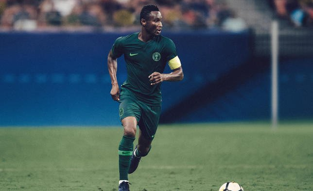 5ac2c0603 Nigeria  Newly-Released Nigerian Super Eagles World Cup Kit Tops UK ...