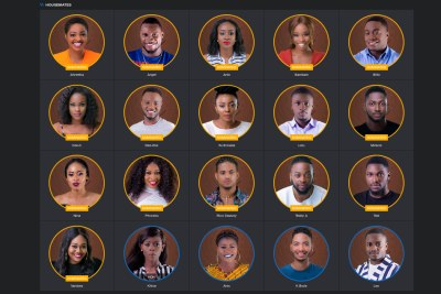 Housemates up for eviction.