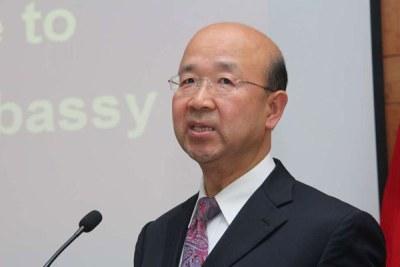 Chinese Ambassador to Kenya Liu Xianfa.