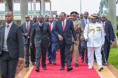 President Kenyatta jets back to Nairobi after landmark State visit to Cuba.