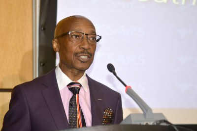SARS Commissioner Tom Moyane in April 2017.