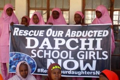 Dapchi schoolgirls.