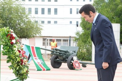 President Ian Khama (file photo).