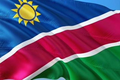 Namibian flag (file photo).