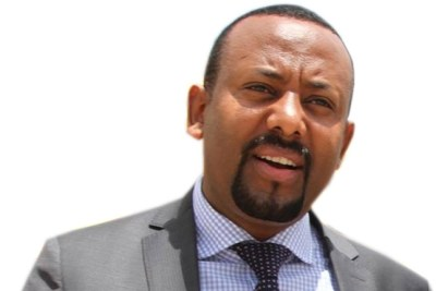 New EPRDF Chairperson Dr. Abiy Ahmed.