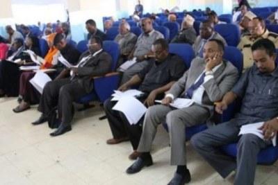 Somali parliament