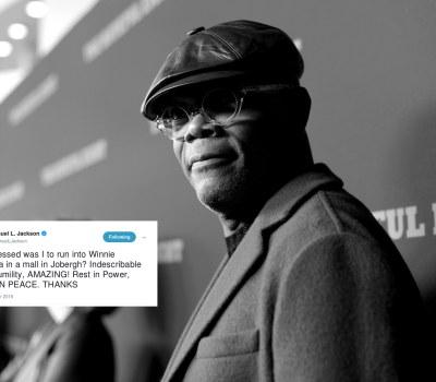 Photo Essay - Stars Tweet Their Respects for Winnie Madikizela-Mandela