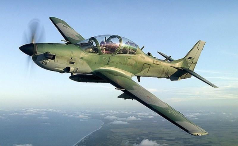 Six Super Tucano Fighter Jets Arrive Nigeria
