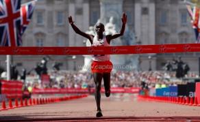 Kenya's World Marathon Champ Kipchoge Gets UN Honour
