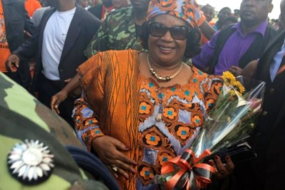 Former President Joyce Banda arrives home after four years abroad.