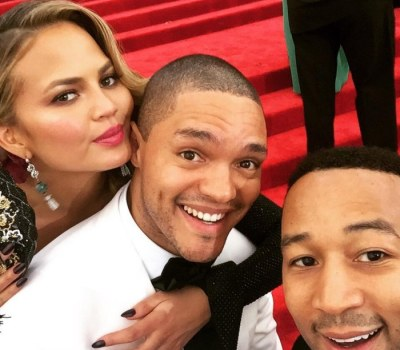 Trevor Noah Just Hanging With His Celebrity Friends