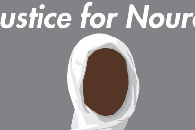 The image used by the Justice for Noura petition