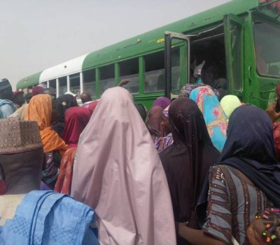 Returnees Make Their Way Home to Borno State